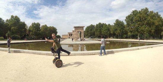 Madsegs Madrid Segway Tours: Segway to the Egyptian temple Madrid