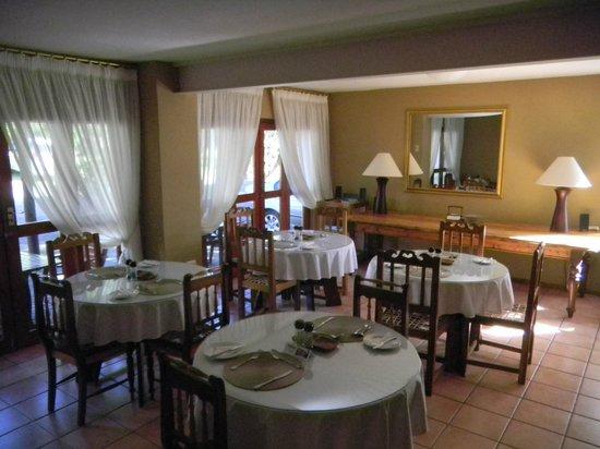 Rest-a-While Lodge: Hier wird gefrühstückt, abends nett zusammen geplaudert.