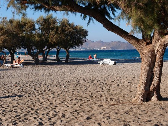 Hotel Atlantis : Beach view