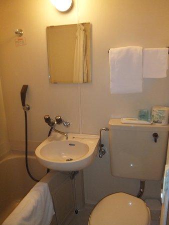 Esaka Cantral Hotel: バスルーム