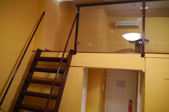 Hotel Anacapri: ロフト