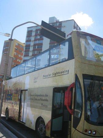 Salvador Bus Turistico: Vista excelente do superior.