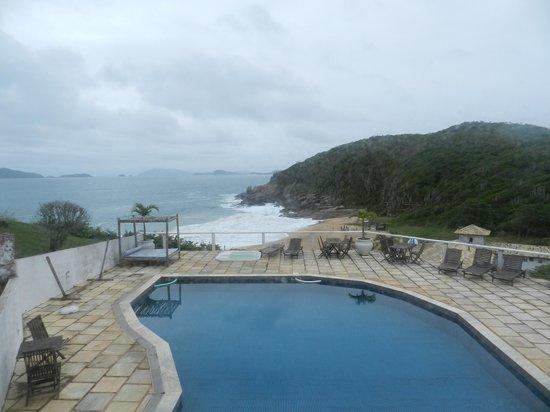 Apa Pau Brasil Hotel : Vista do restaurante