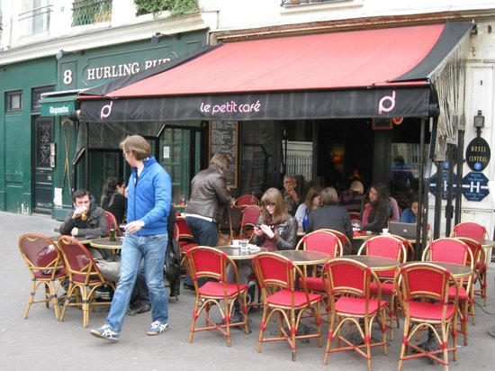Terras le petit caf picture of le petit cafe paris - Le petit salon paris ...