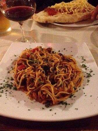 Pizzeria & Spaghetteria Storia: Vegetarian pasta
