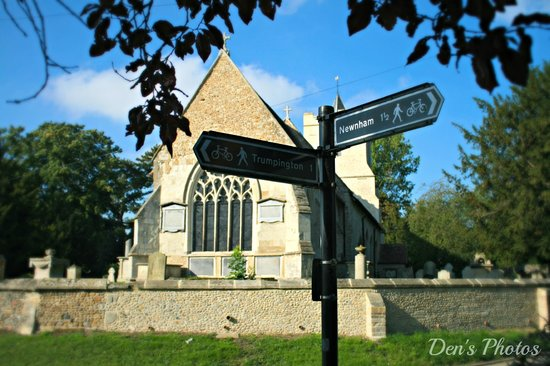 Grantchester Village: Lovely village