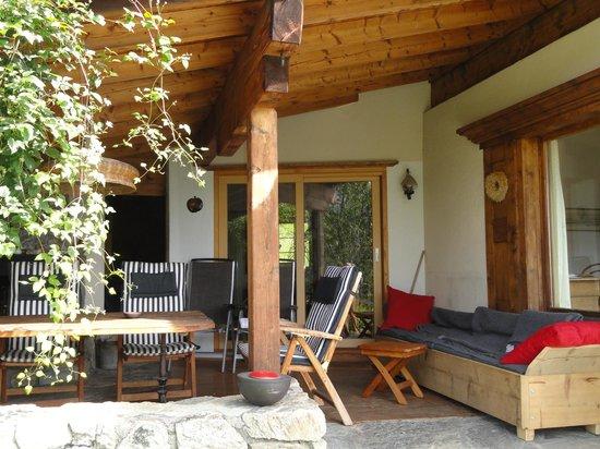 Bed and Breakfast Conrad, Pany: Garten Lodge