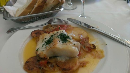 Masia Tipica Crusells: Local Fish for Lunch