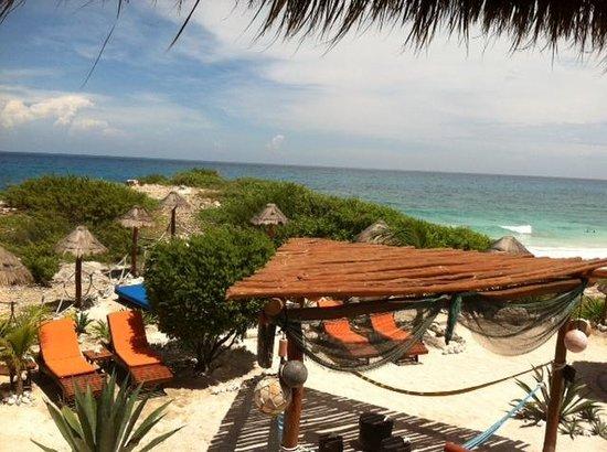 Villa La Bella : View from Palapa #1