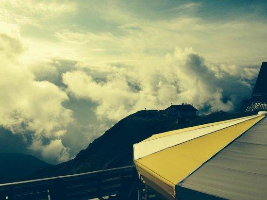 Rifugio Des Alpes : la vista