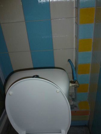 Hotel Rose: Bricolage dans la salle de bain