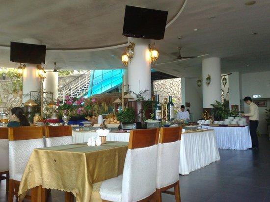 Seaside Resort: where we had breakfast