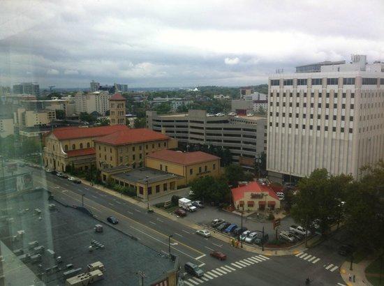 Loews Vanderbilt Hotel: View from room, looking toward downtown