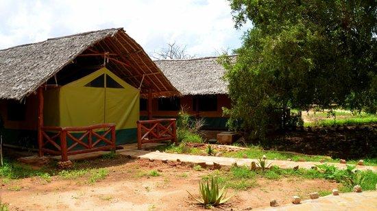 Ndololo Camp: Unser Zelt