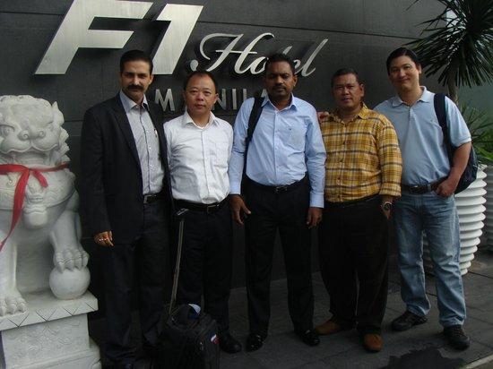 F1 Hotel Manila: Basant Kr Chaturvedi