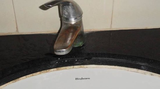 Hill View Resorts: broken tap