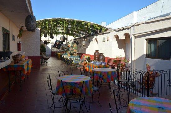Hotel Posada de la Media Luna: Terraza