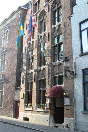 Hotel Het Gheestelic Hof : The hotel