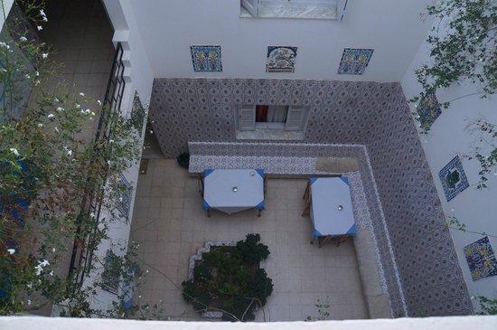 Inn El Medina: Der Innenhof
