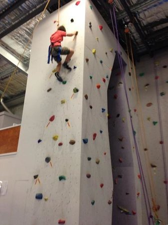 Climbing Naturaliste: nearly at the top!