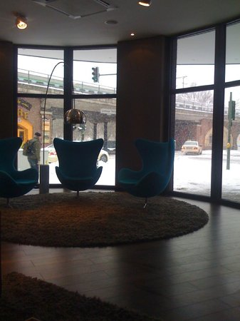 Motel One Berlin-Bellevue: view from the lobby