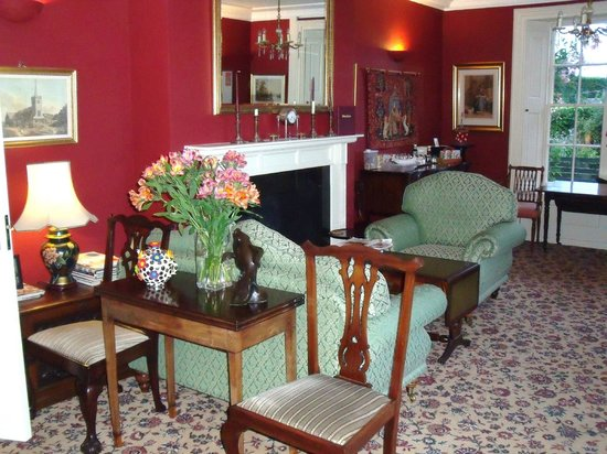 Clehonger, UK: A glimpse of the dining room