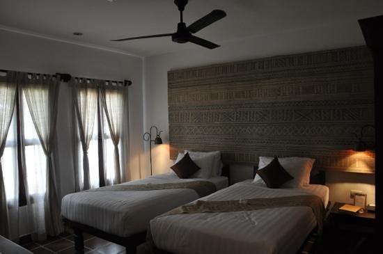 Victoria Xiengthong Palace: ツインの部屋