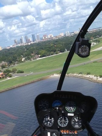 Old City Helicopters, LLC: View of Tampa