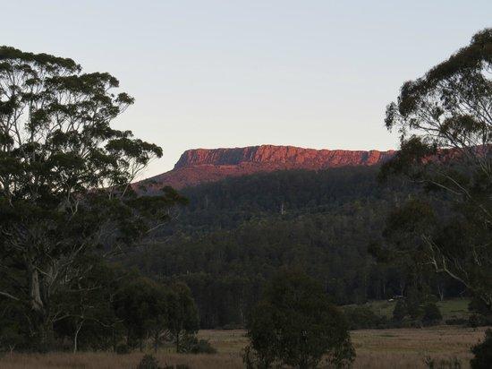 Forest Walks Lodge: Sunset