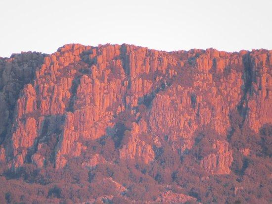 Forest Walks Lodge: Dolerite Bluff