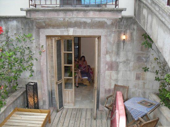 Oyster Residences: our garden room