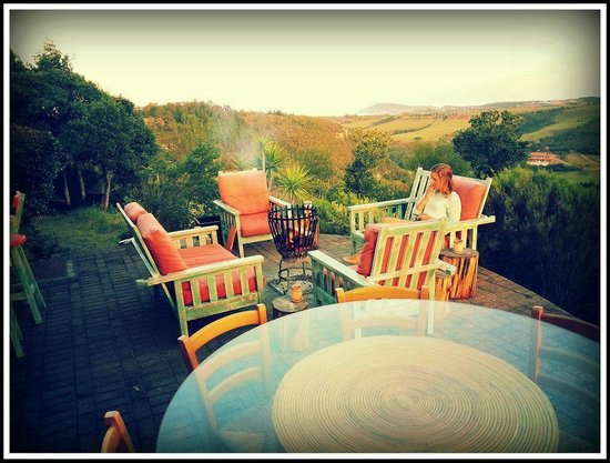 African Array Lodge: The deck