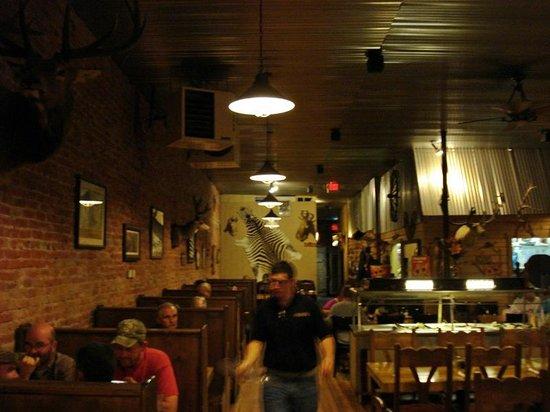 Ol Miner Steakhouse : Interior