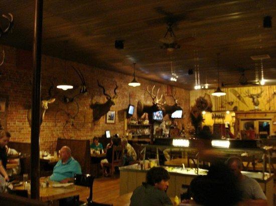 Ol Miner Steakhouse Interior