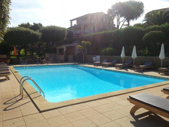Residence Motel Aria Marina : la piscine, très jolie