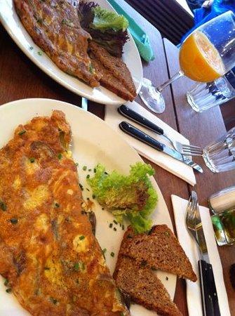 Riva Bar: omelette