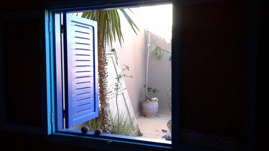 Abertih Hotel Restaurant : vue de la chambre