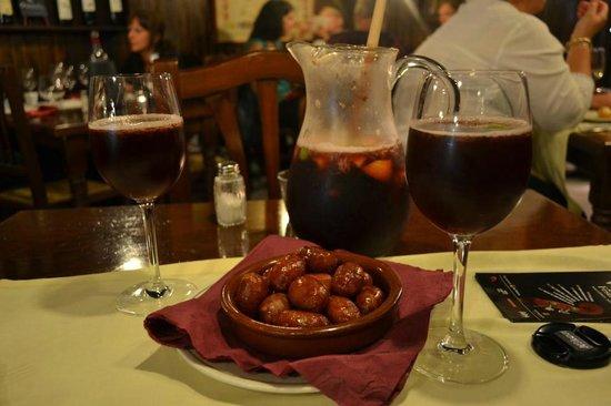 La Bodega Restaurants : best Chorizo ans lovely Sangria