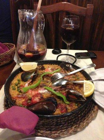 La Bodega Restaurants: The best Paella ever - la mejor Paella