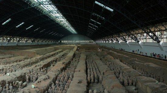 พิพิธภัณฑ์สุสานจิ๋นซี: Terracottaleger