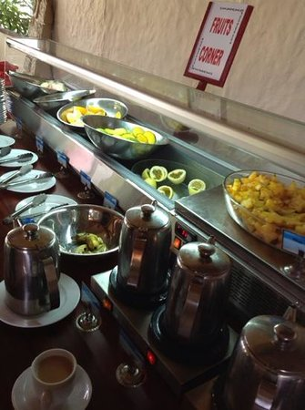 Berjaya Praslin Resort - Seychelles : buffet petit déjeuner
