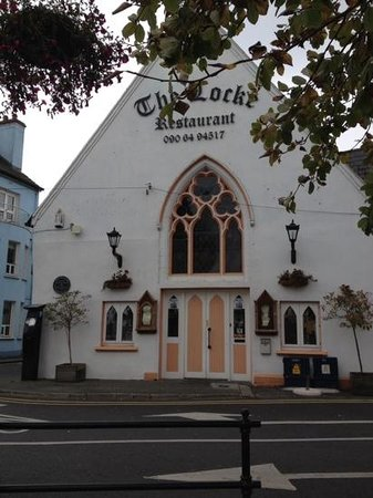 The Locke Restaurant: from the river Shannon side!