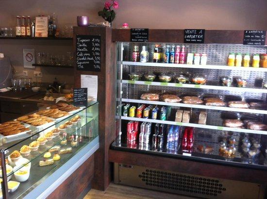 Cafe Mercier: vente à emporter / patisseries