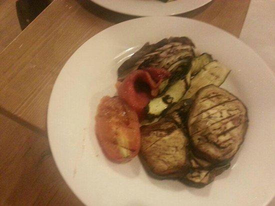Ristorante Osso Macelleria e Fornelli : verdure grigliate