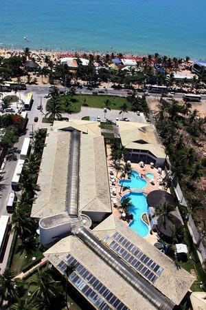 Oceano Praia Hotel: Praia de Taperapuã - Taperapuã beach