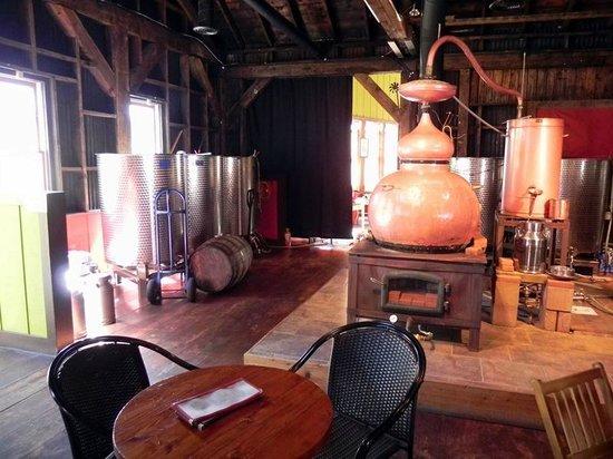 Montanya Distillers : Distillery Area