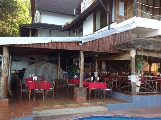 Patatran Village Hotel: restaurant du Patatran