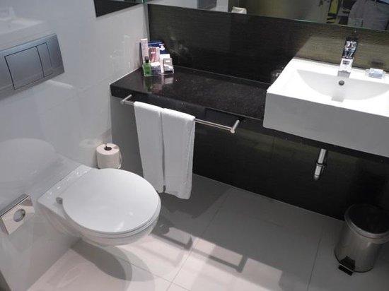 H10 Berlin Ku'damm: 洗面台とトイレ