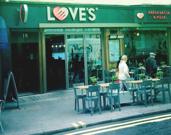 Love's Fresh Pasta: Great restaurant
