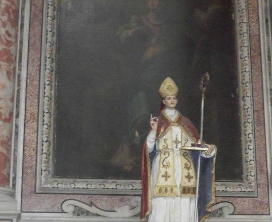 Chiesa dei Girolamini: Statua di San Gennaro
